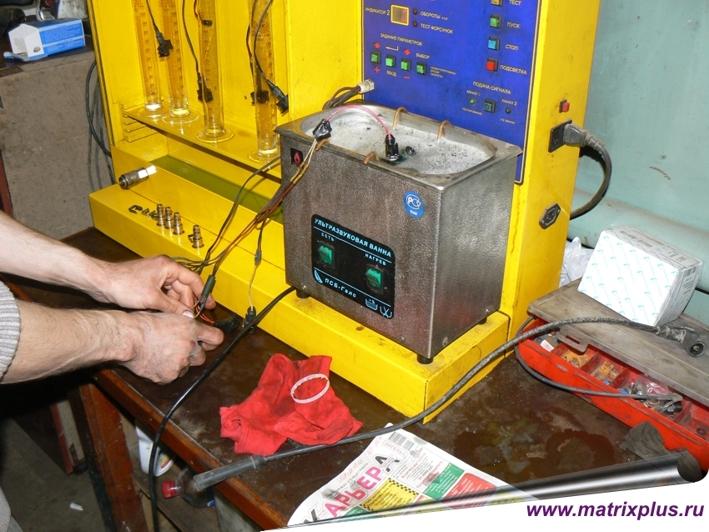 Промывка инжектор своими руками фото